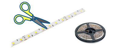 cuttable led strip