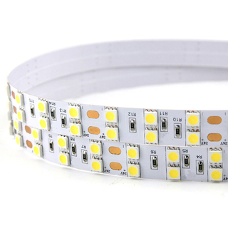 DC 24V 120LEDs/m SMD 5050 Double Row Flexible LED Strip Light