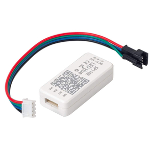 SP110E WS2811 WS2812B SK6812 RGB RGBW Bluetooth Mini Controller for Addressable LED Strip