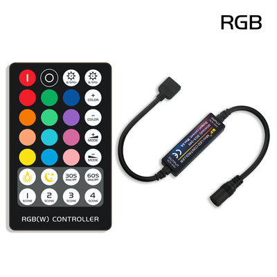 RF 24Key Remote Controller for Dimming RGB RGBW CCT LED Strip Lights