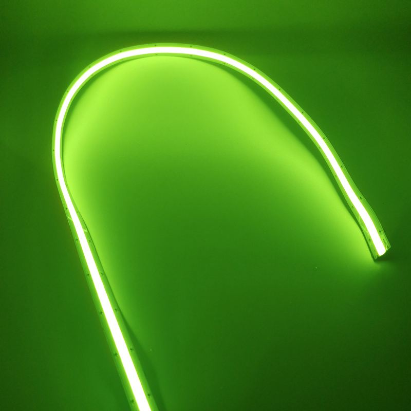 green cob led strip